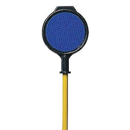 Blue 48H Fiberglass Driveway Marker 1 EA pack of 5