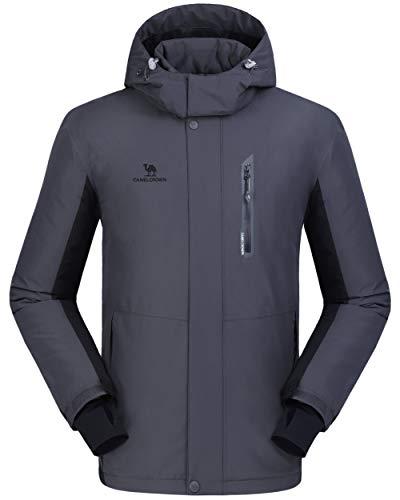 CAMEL CROWN, Men Waterproof, Ski Jacket, Warm Cotton, Coat Mountain, Winter Snow, Hooded Raincoat, Snowboard Windbreaker