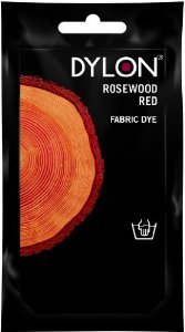 Dylon Rosewood Red Hand Fabric Dye 1.76 Oz (50g) Great Britain's leading Fabric Dye! (Red Dye Clothes)