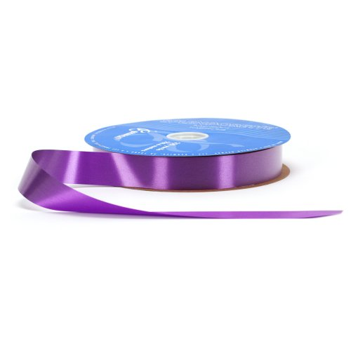 Ribbon Polypropylene - Berwick P8 09 Splendorette Craft Ribbon, 1-1/4-Inch Wide by 250-Yard Spool, Purple