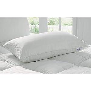 Kuber Industries Luxurious 1 Piece Microfibre Pillow Filler – 16″x24″, White – CTKTC22178