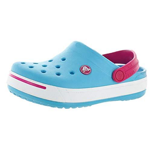 Crocs Unisex Crocband II Clog Shoe Easter Blue/Candy Pink Li