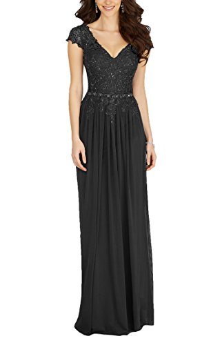long black mother of the groom dresses - 3