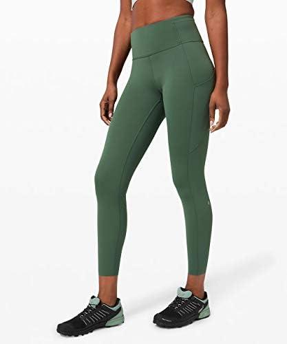 "yoga bottoms 25"" 高速で自由なタイトII 25インチ 反射しない [Algae Green] [並行輸入品]"