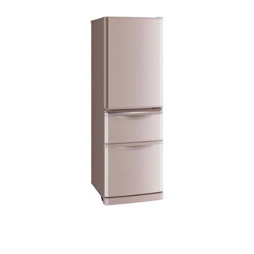 三菱 370L 3ドア冷蔵庫(シャンパンピンク)MITSUBISHI MR-C37X-P   B00G34RJ7O