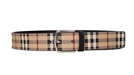BURBERRY バーバリー  Haymarket Check belt 4062513 ベルト【並行輸入品】 B07F3DFV5Q 95