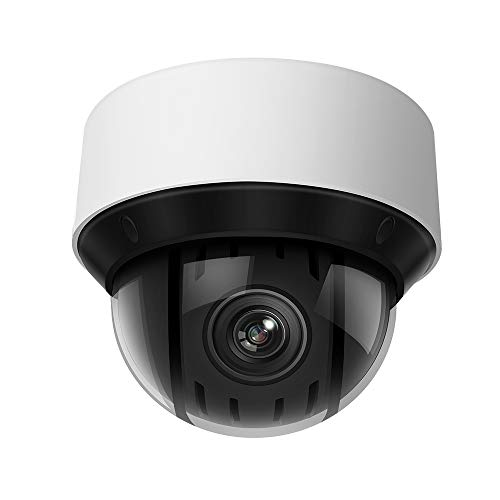 4MP UltraHD 25x Network PTZ Outdoor Dome Camera, OEM DS-2DE4A425IW-DE,2560X1440,165ft IR Night Vision,Auto Tracking,4.8mm~120mm 25X Optical Zoom H.265+, IP67,IK10 SD Card Slot,ONVIF Security Camera