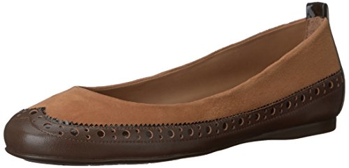 FS French Flat Brown NY Ballet Sole Women's Solar 5Y5UrRHq