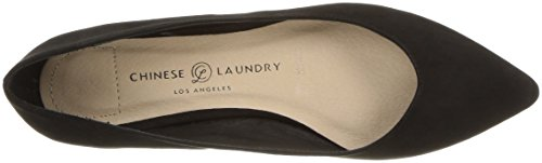 Black Women's Pointed Laundry Suede Flat Gavin Chinese Toe CqzYF