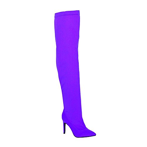 Women's Nylon Thigh Stiletto Boot