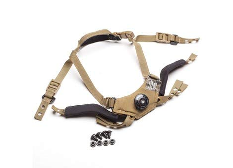 Team Wendy CAM FIT Retention System - Right Eye Dominant for ACH/MICH, Fast, AirFrame (Coyote Brown, Size 1)