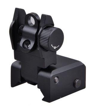 Trinity Force AR15 Flip Up Iron Sight,Black,Rear Only FS70