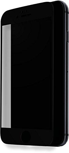 The Kase 36829732Pellicola di protezione di schermo in vetro temperato 100% di superficie Coperta per iPhone 7Nero