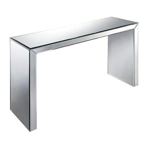 (Brandy Mirrored Console Table Art Deco Hall Entry)
