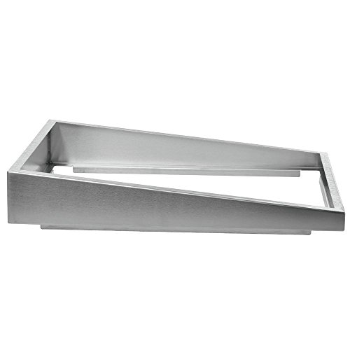 Steam Table Pan Riser Full Size Stainless Steel Pan Elevator - 22''L x 12''W x 4''H by Hubert