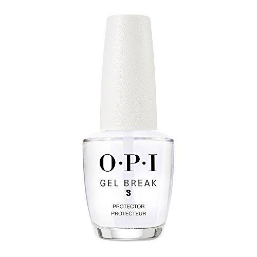 - OPI Gel Break Treatment, Protector Top Coat, 0.5 Fl Oz