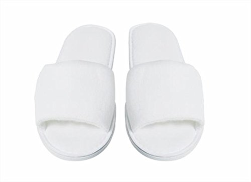 Slippers Terrycloth Luxury Pack of 10 –  Flip flops Hotel Courtesy Cotton monoutile BRENTA SRL