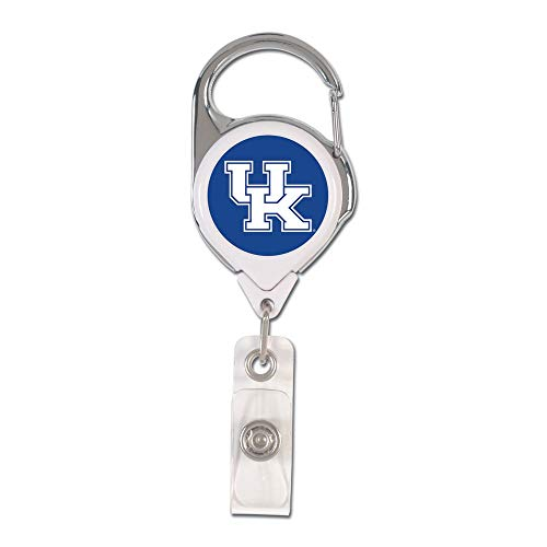 (WinCraft, NCAA, University of Kentucky Wildcats, Retractable Premium 2-Sided Badge Holder - 47067016)