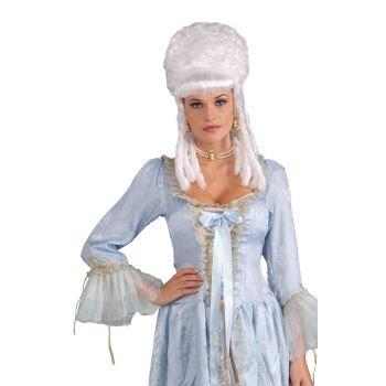 Wig Marie Antoinette Platinum (Marie Antoinette Wig Costume Accessory)