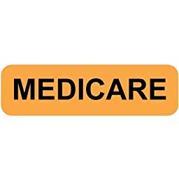 Colortrieve Orange Medicare Label, 5/16\