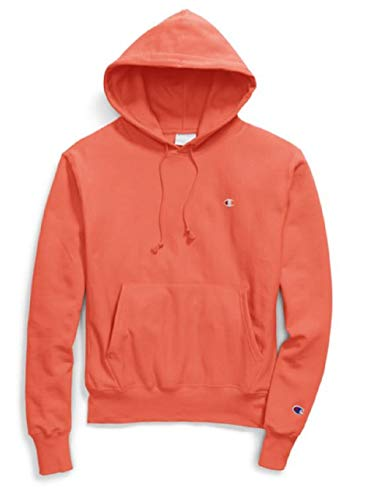 Champion LIFE Men's Reverse Weave Pullover Hoodie, Groovy Papaya, X Large