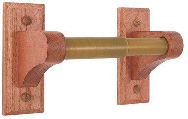 LDR 165 9830 Rustic Oak Paper Holder, Oak -