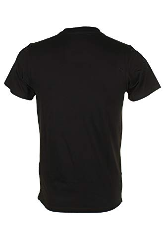 Polo Ralph Lauren Men Pony Logo T-Shirt (Medium, Black)