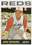 1964 Topps Regular (Baseball) Card# 275 John Tsitouris of the Cincinnati Reds ExMt Condition