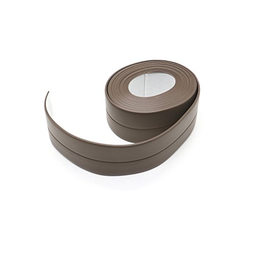 HUELE Bath Wall Sealing Waterproof Strip Self-Adhesive Kitchen Caulk Tape Bathroom Basin Edge Decorative (Decorative Basins Decorative Basins)
