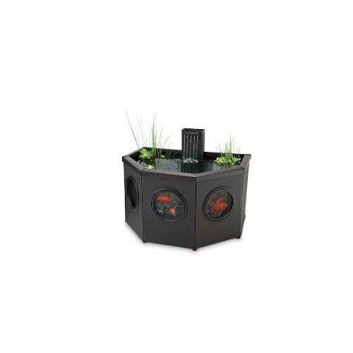 (Pennington Aqua Garden Raised Window Half Moon Pool Kit)