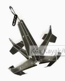 【特別セール品】 Tightline カナダ製 K4x カヌー - - カヤックアンカー - 素早く確実なホールドのためのグラップネルデザイン - 軽量で折りたたみ可能なので持ち運び便利 - 耐久性のあるステンレススチール構造 - カナダ製 B07HQZHQ3X, 老犬と介護のショップ わんケア:f91c3d1f --- a0267596.xsph.ru