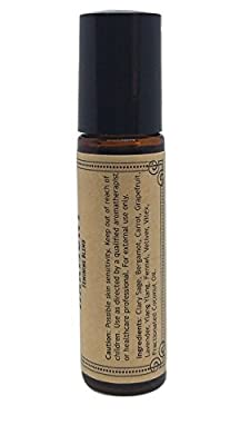 Harmony Pre-Diluted Essential Oil Roll-On Blend 10ml (1/3oz) | Monthly Feminine Support, PMS, Cramps, Bloating, Nausea, Anxiety