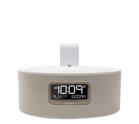 ihome idl46whc ipad iphone ipod dual charging stereo fm. Black Bedroom Furniture Sets. Home Design Ideas