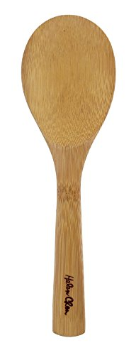 Helen's Asian Kitchen 97062 Bamboo Rice Paddle Cooking Utensil, 9-Inch