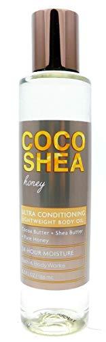 Bath & Body Works - CocoShea Honey - Lightweight Body Oil - 6.3 fl oz
