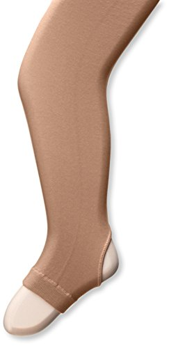 - Capezio Big Girls' Hold and Stretch Stirrup Tight, Suntan, Medium