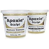 Apoxie Sculpt 4 lb. Black, 2 Part Modeling Compound (A & B) (Color: Black, Tamaño: 4 LB)