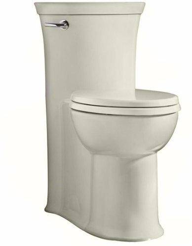 Tropic Right Height Elongated 1 Pc Toilet in Linen