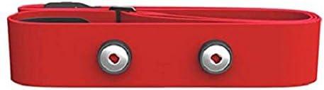 Polar Soft Strap - Elásticos para transmisores, color rojo, M-XXL