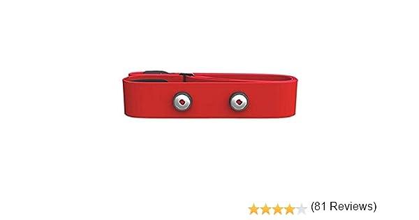 Polar Soft Strap - Elásticos para transmisores, color rojo, M-XXL: Amazon.es: Deportes y aire libre