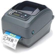 Zebra Technologies GX42-102711-000 Series GX420T Performance Desktop Printer, Thermal Transfer, 203 dpi Resolution, USB, Serial, 802.11B/G Connection, Peeler, 6' USB Cable Included, Black (Label Zebra Serial Cable)