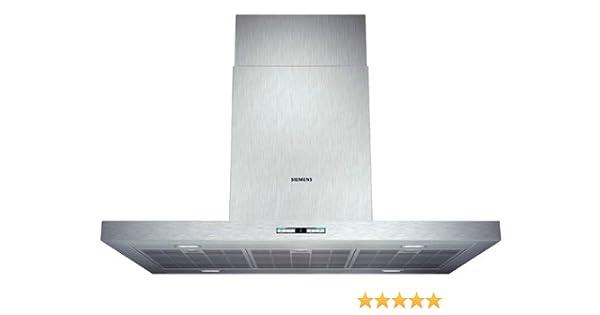 Siemens LF98BB542 - Campana (Canalizado/Recirculación, 870 m³/h, 430 m³/h, Isla, LED, 888 Lux) Acero inoxidable: 863.13: Amazon.es: Grandes electrodomésticos