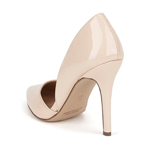 DREAM PAIRS Womens OPPOINTED Dress Pump Stiletto Heel Shoes Oppointed-nude Pat HfdbUa