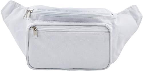 SoJourner White Fanny Pack - Packs for men, women | Cute Festival Waist Bag Fashion Belt Bags