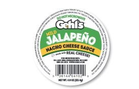 Nacho Cheese Cups (GEHL's, Jalapeno Cheese Sauce Cup 4 oz. (48 Count))