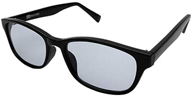 PP(Phenol Phthalein) IRUV1000 썬글라스 근 적외선 컷 자외선 컷 블루 라이트 컷 백내장 예방 사바에 렌즈 메이커 개발 AG-002 (블랙/라이트 스모크)