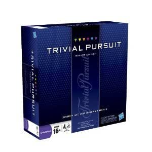 Trivial pursuit master edition puzzle book: hasbro: 0805219350010.