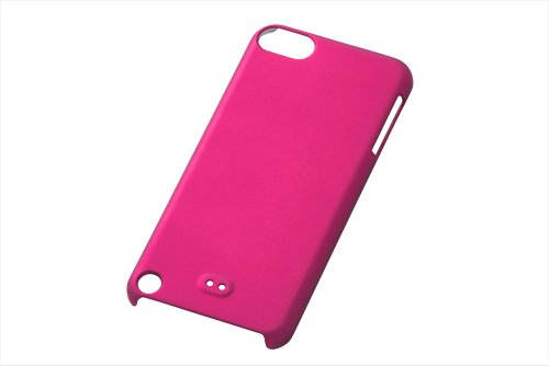 Rubber Coating Case for iPod touch 5G (Pink)