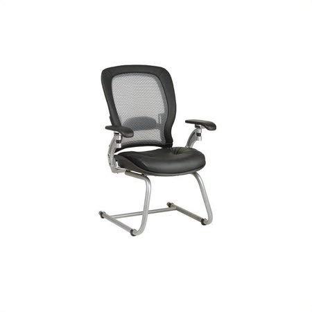 Professional AirGrid (Black/Platinum Visitors Chair)