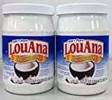 LouAna, Pure Coconut Oil, 30oz Bottle (Pack of 2)